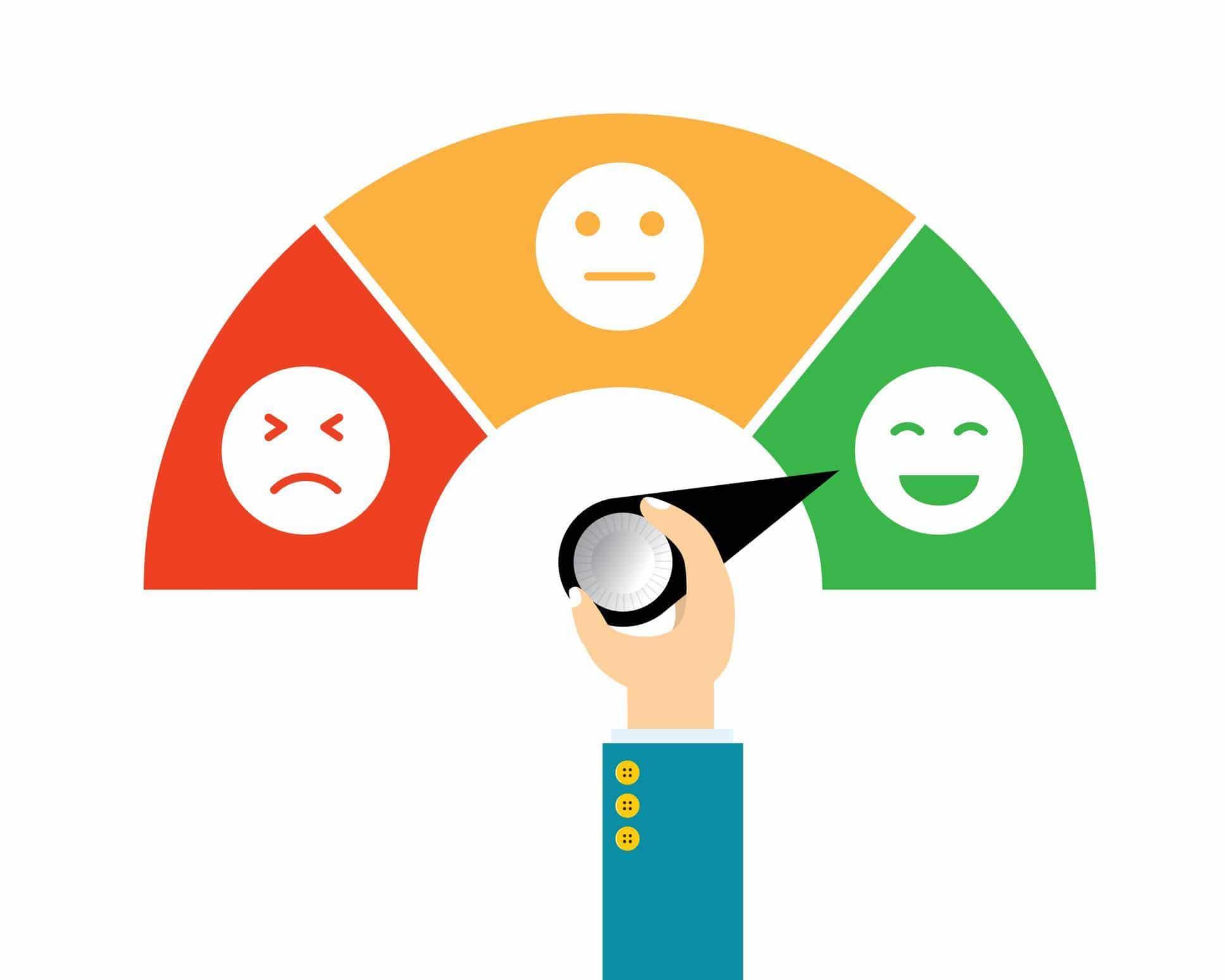 Une bonne expérience client conduit à un attachement à la marque.